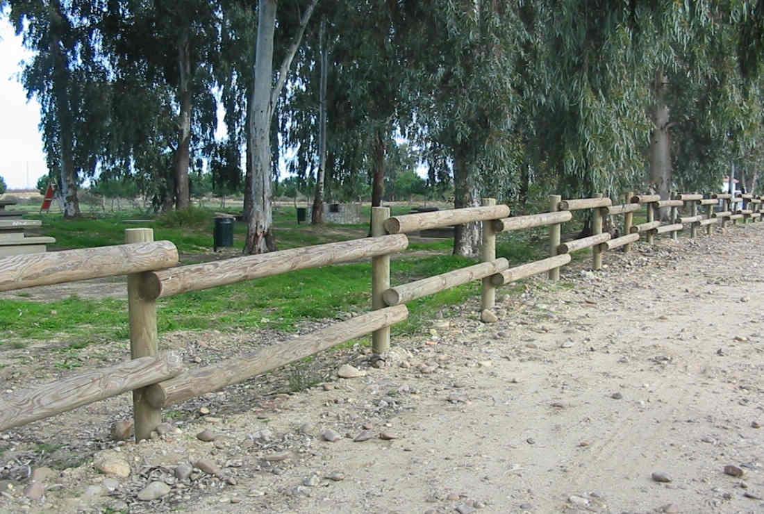 Cierres de madera para fincas free simple with cierres de madera para jardin with cierres para - Cierres de madera para fincas ...