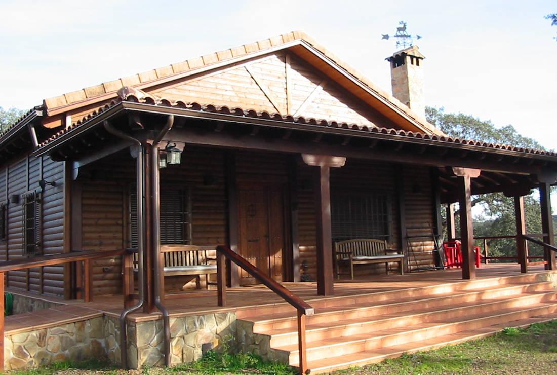 Casas de madera fotos gallery of casas de madera - Fotos de casas de madera ...