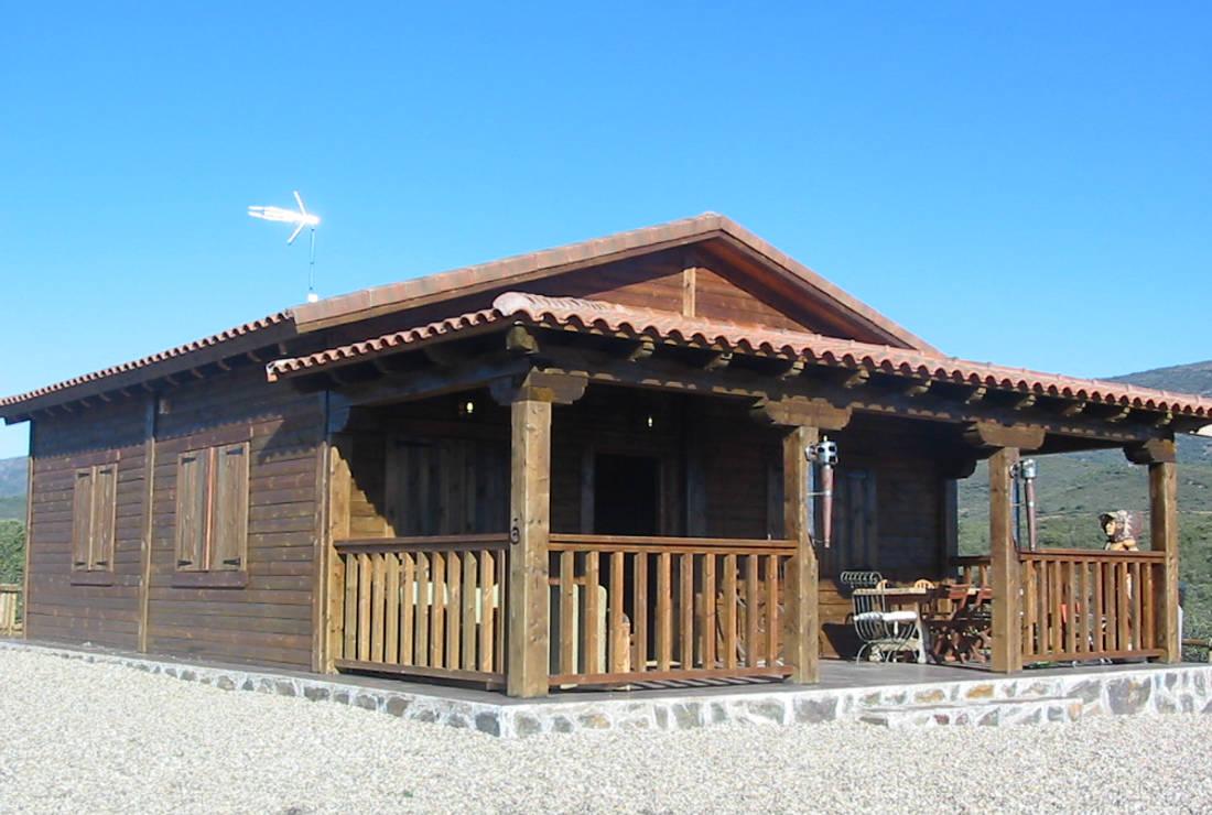 Casas de madera maciza impregnaciones y montajes s l - Casas de madera ...