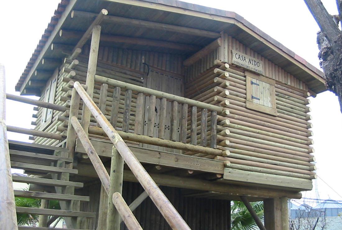 Solid wooden houses impregnaciones y montajes s l - Casas de madera maciza ...