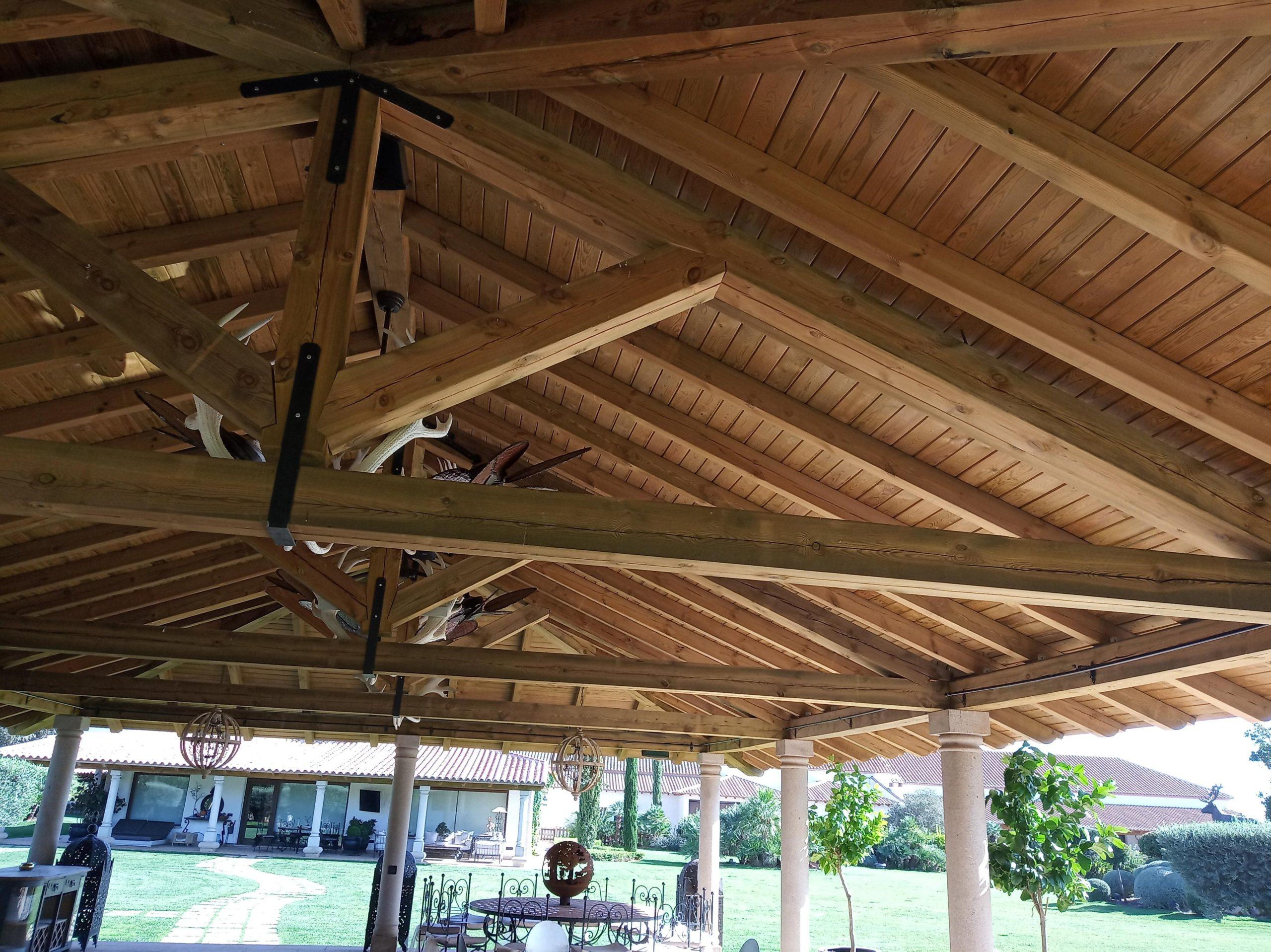 cubiertas de madera