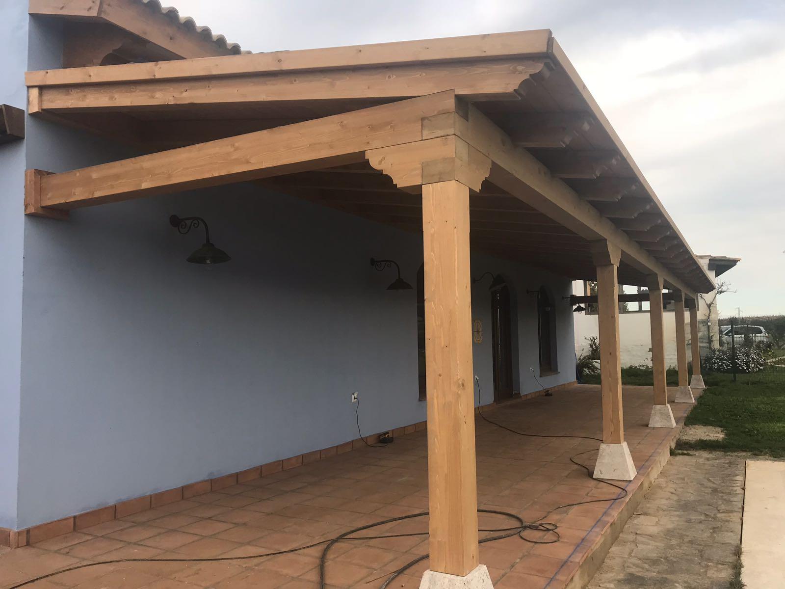 porches de madera